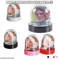 Porte photo bulle à paillettes