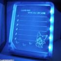 Tableau LED avec stylo - message lumineux