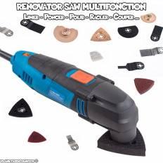 Renovator Saw multifonction avec 37 accessoires