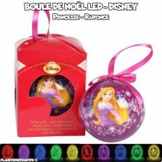 Boule de Noël LED multicolore Disney - Princesse