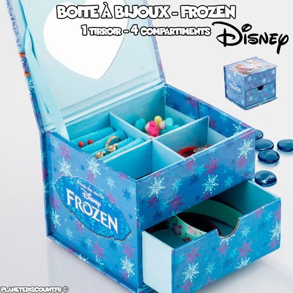 Coffret à bijoux Disney - Frozen (La reine des neiges)