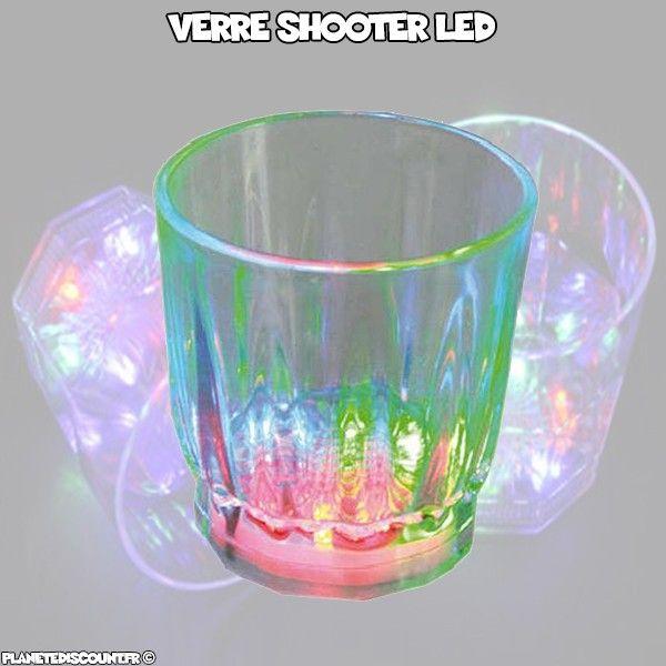 Verre à liqueur lumineux - 3 LED