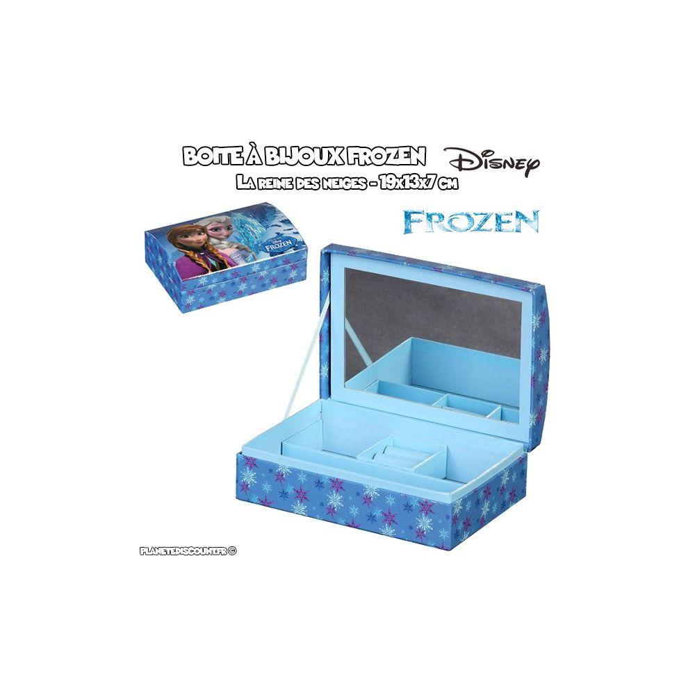 boite bijoux achat coffret bijoux la reine des neiges pas cher. Black Bedroom Furniture Sets. Home Design Ideas