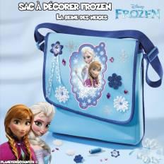 Sac bandoulière la Reine des Neiges à décorer - Disney