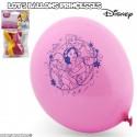Lot de 5 ballons Disney - Princesses