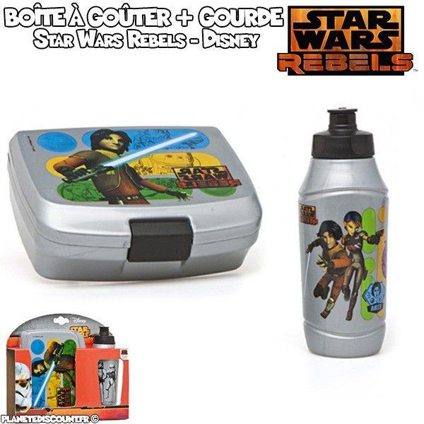 Boîte à déjeuner avec gourde Disney - Star Wars Rebels