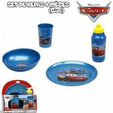 Set vaisselles de 4 pièces Cars - Disney