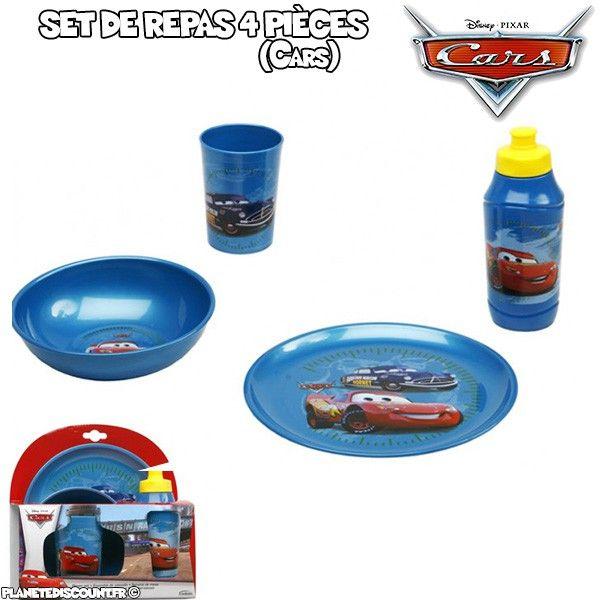 Service vaisselles de 4 pièces Cars - Disney