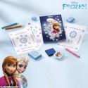 Coffret kit créatif tampons la Reine des Neiges - Disney