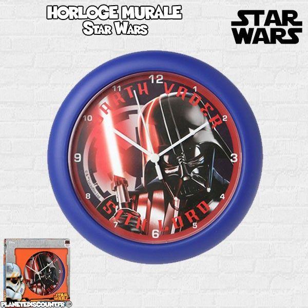 Horloge Murale Star Wars de 25 cm - Disney