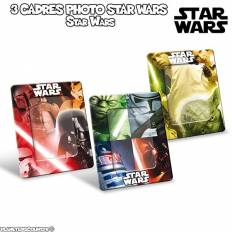 3 Cadres Photo Star Wars