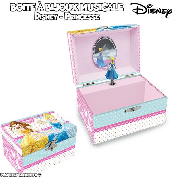 boite bijoux musicale cendrillon coffret boite. Black Bedroom Furniture Sets. Home Design Ideas