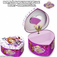 Boîte à bijoux musicale Princesse Sofia - Disney