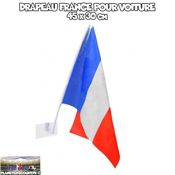 Drapeau pour voiture - FRANCE 30 x 45 cm