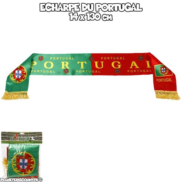 écharpe de supporter - PORTUGAL