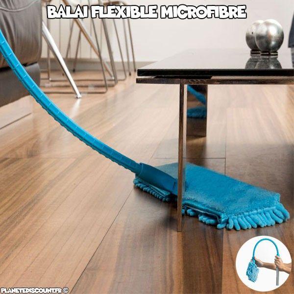 Balai microfibre flexible Xtreme
