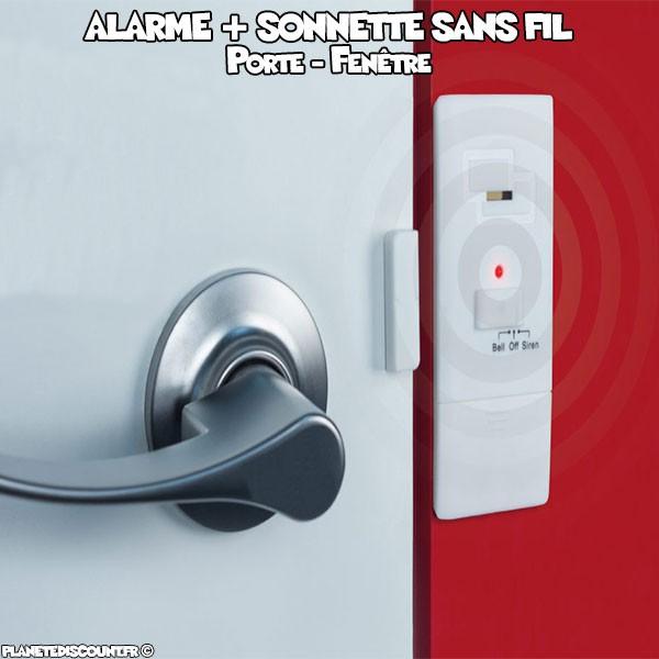 Alarme porte maison dtecteur de mouvement detecteur - Alarme de porte sans fil ...