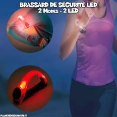 Brassard lumineux de sécurité LED