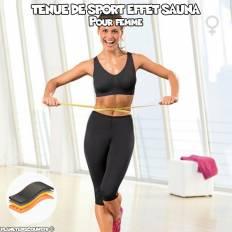 Tenue de sport femme effet sauna