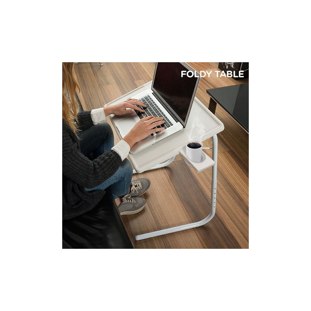 Table pliable multifonction achat table d 39 appoint - Table d appoint pliante multifonction ...