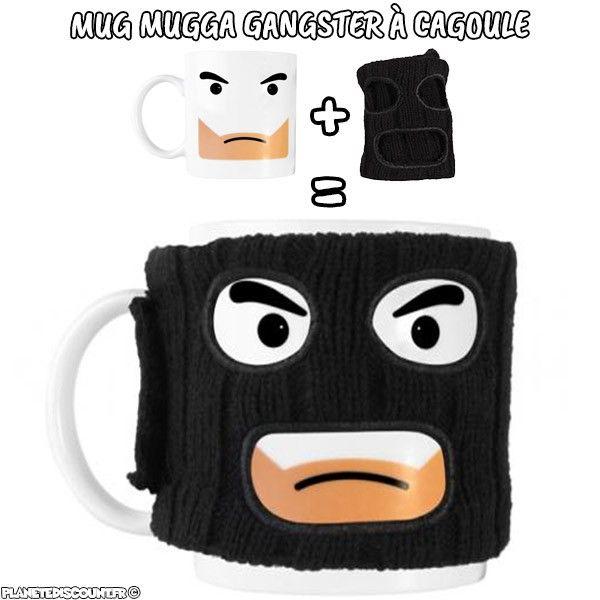 Mug gangster Mugga à cagoule