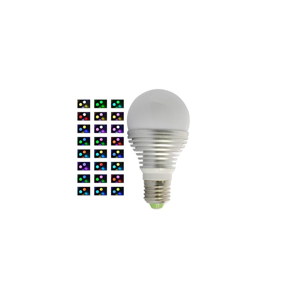 ampoule led achat ampoule led rgb e27 16 couleurs pas cher. Black Bedroom Furniture Sets. Home Design Ideas