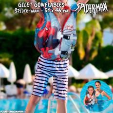 Gilet de natation gonflable Spider-man