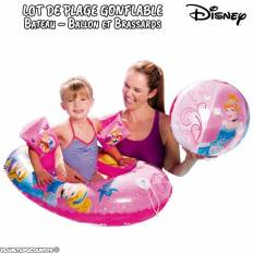 Lot jeux gonflables de plage Princesses Disney