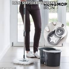 Balai serpillère tournant avec seau - Iron Kong Mop