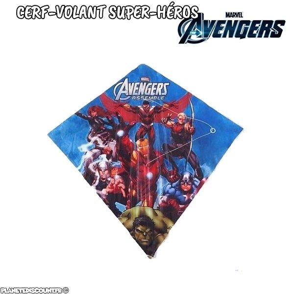 Cerf-volant des super héros Avengers de Marvel