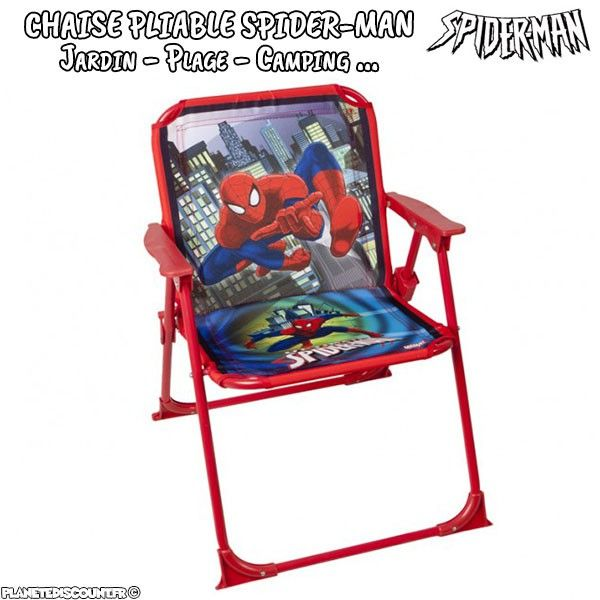 Chaise Pliable Spider Man