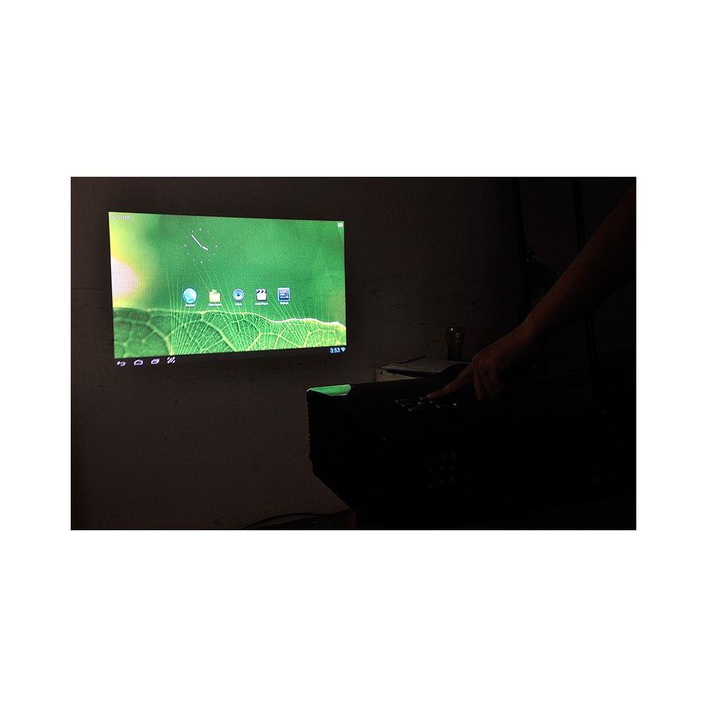 vid o projecteur achat vid oprojecteur hd android 4 1. Black Bedroom Furniture Sets. Home Design Ideas