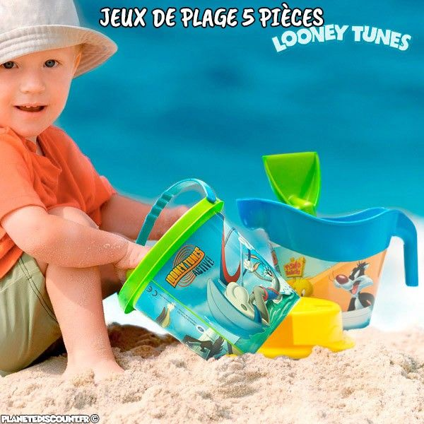 Jeux de plage Looney Tunes 5 pièces