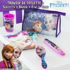 Trousse de toilette La Reine des Neiges avec accessoires