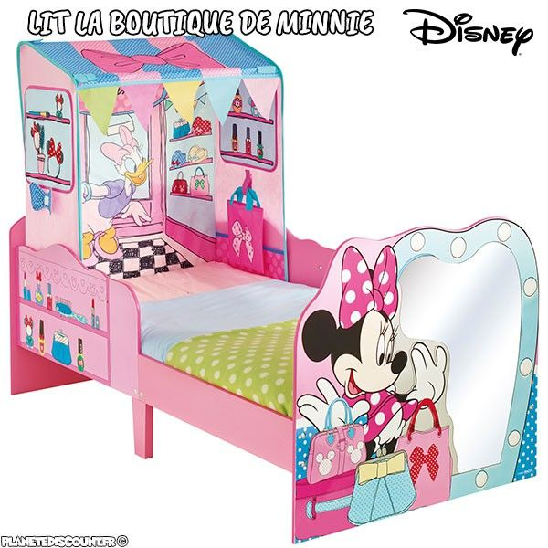Lit enfant Boutique de Minnie Mickey Mouse Disney
