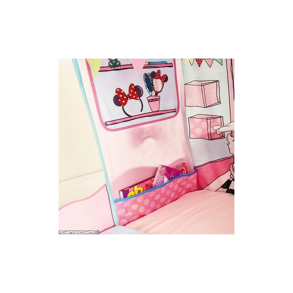 lit enfant la boutique de minnie mouse lit enfant disney pas cher. Black Bedroom Furniture Sets. Home Design Ideas