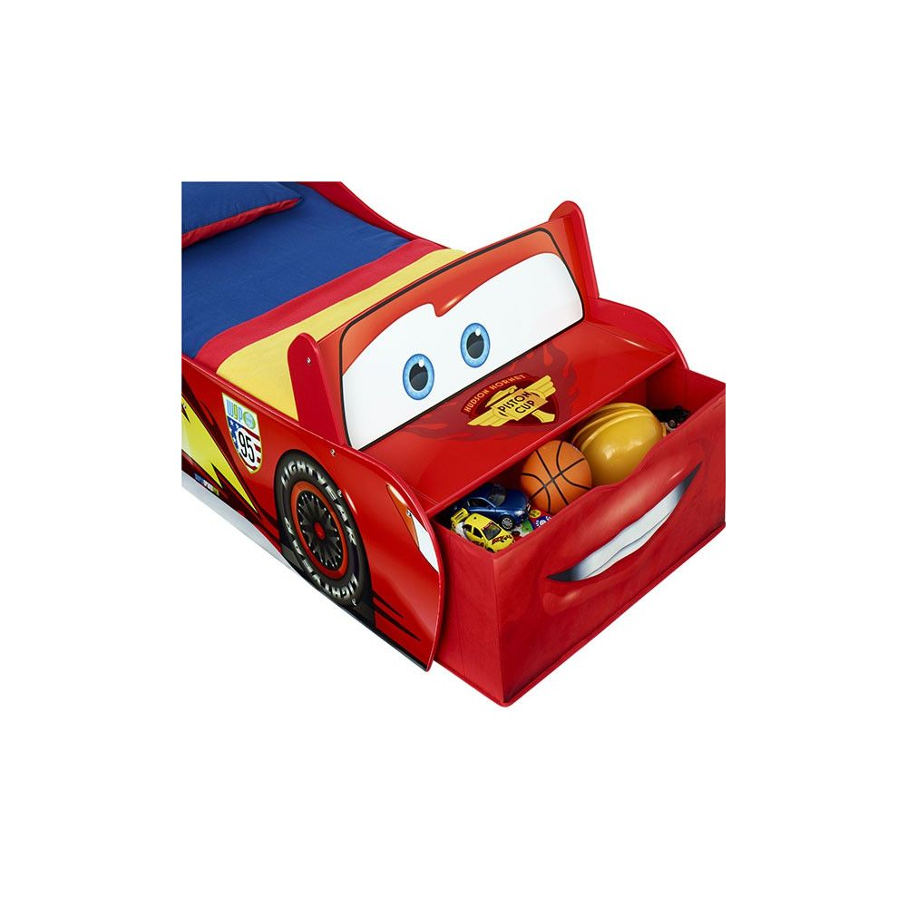 lit enfant cars flash mcqueen lit enfant voiture disney pas cher. Black Bedroom Furniture Sets. Home Design Ideas