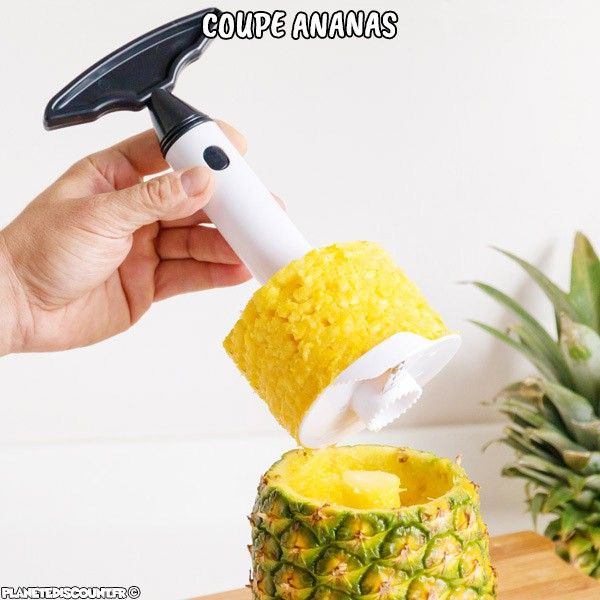 Coupe ananas spiral