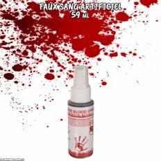 Faux sang artificiel en aérosol