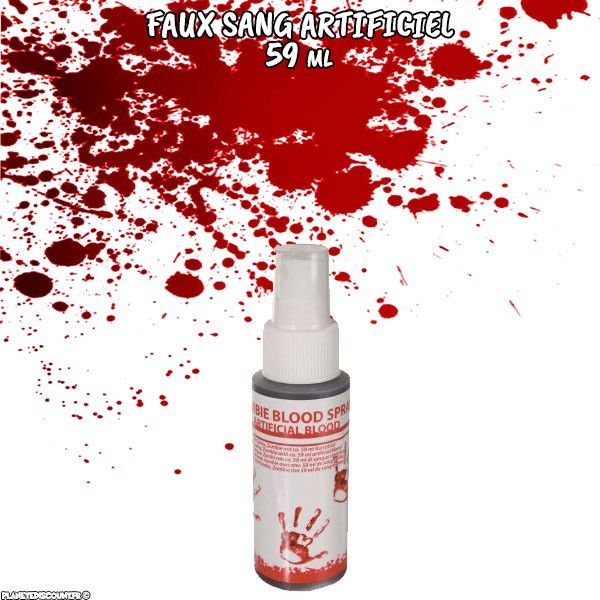 Sang artificiel en aérosol