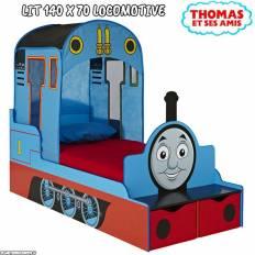 Lit enfant Thomas et ses amis La Locomotive
