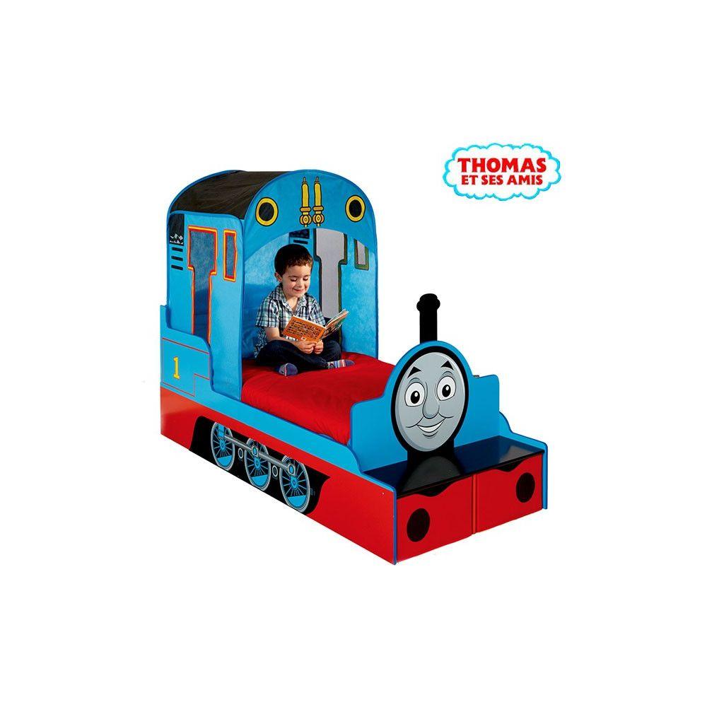 Lit enfant achat lit thomas et ses amis lit locomotive pas cher - Train thomas et ses amis ...