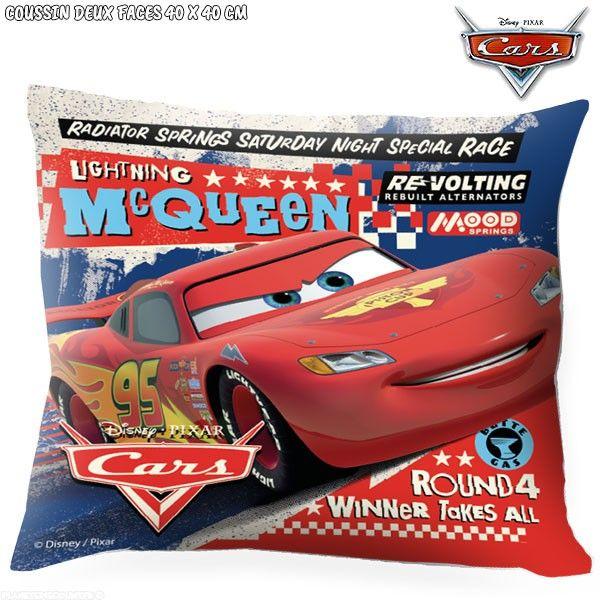 Coussin Cars Disney 40 x 40 cm