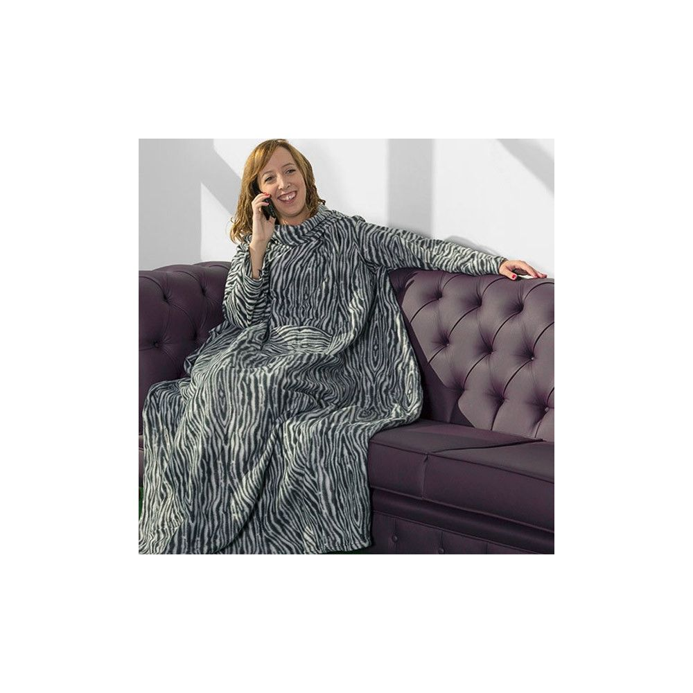 couverture avec manches pour l 39 hiver planete discount. Black Bedroom Furniture Sets. Home Design Ideas