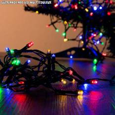 Guirlande LED de noël multicouleur - 400 LED