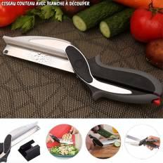 Ciseaux couteau avec planche à découper PopCut