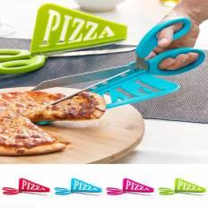 Ciseau à pizza 2 en 1 grand modèle