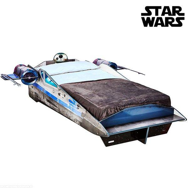 Lit enfant Vaisseau Guerre des Etoiles Star Wars X-Wing