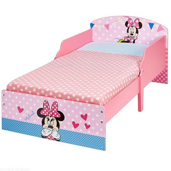 lit minnie achat lit enfant minnie en bois disney 140x70. Black Bedroom Furniture Sets. Home Design Ideas