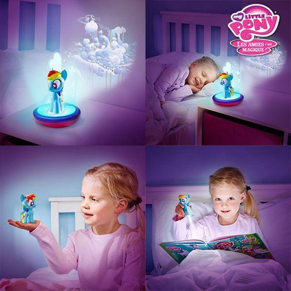 Veilleuse My Little Pony 3 en 1 Go Glow avec projecteur